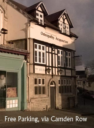 Location for Osteopathy Bath